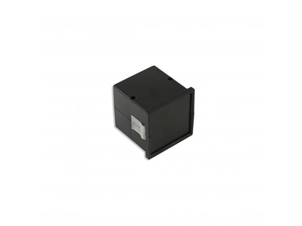 Plastová krabička KM63, černá