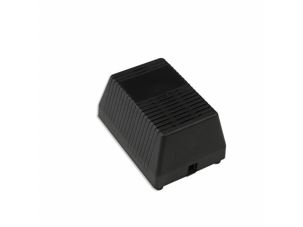 Plastová krabička KM67, černá