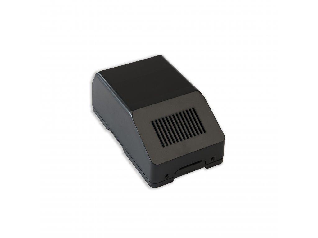 Plastová krabička KM68, černá