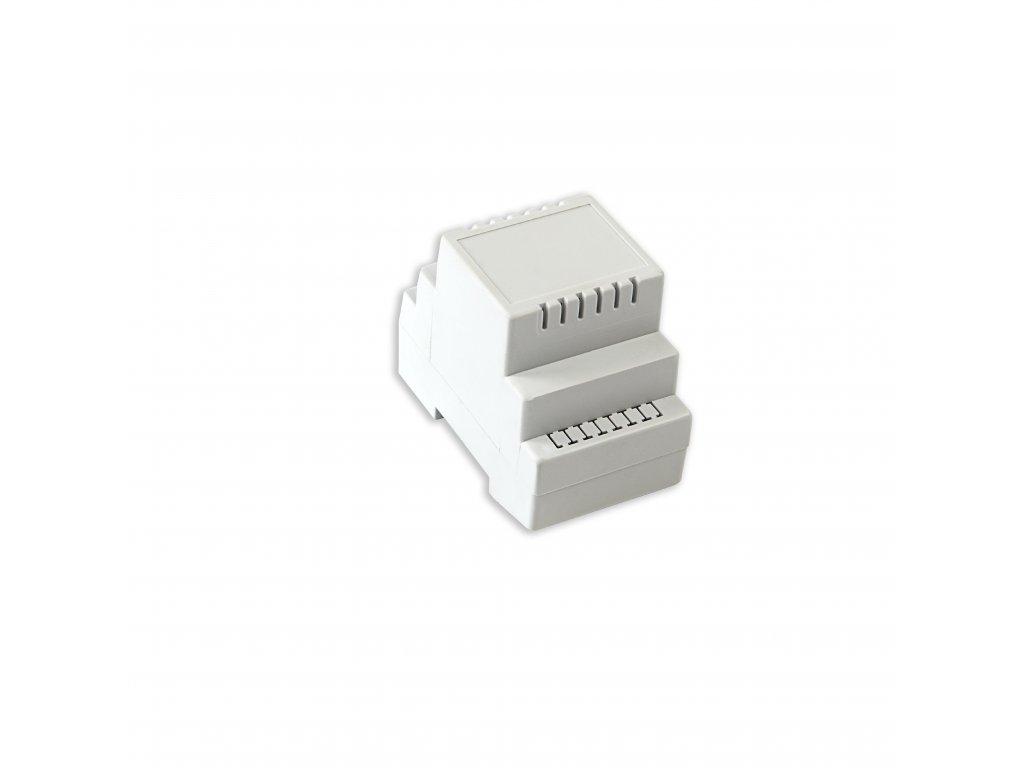 Plastová krabička KM73, šedá