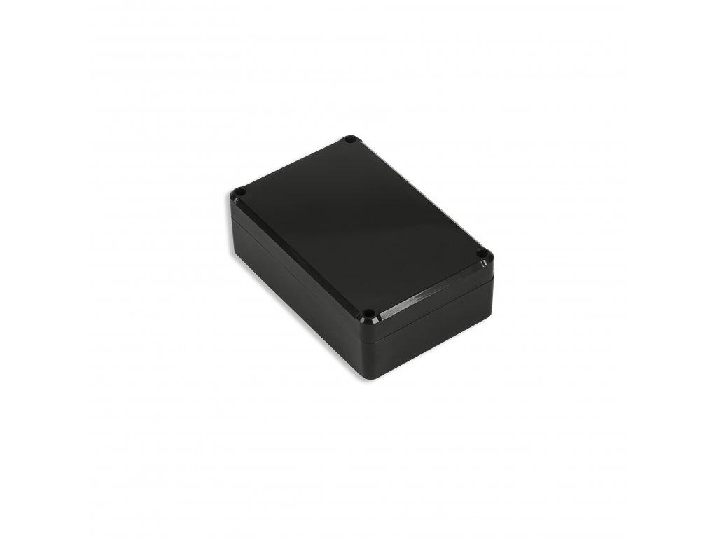 Plastová krabička KM75, černá