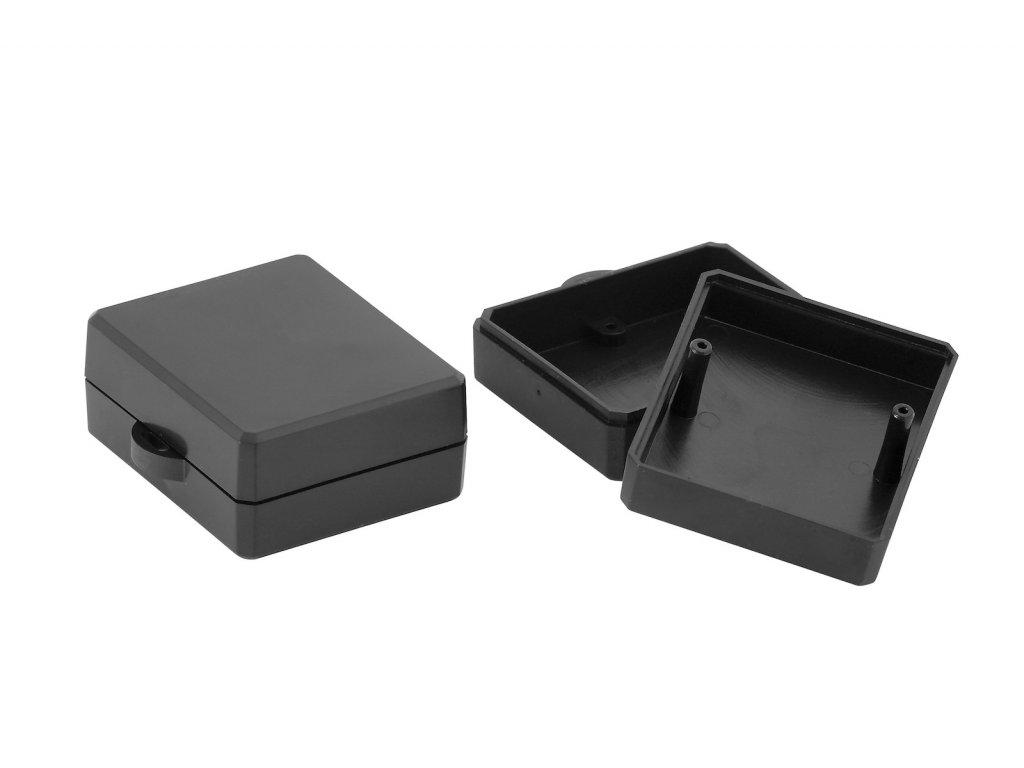 Plastová krabička KM90, černá