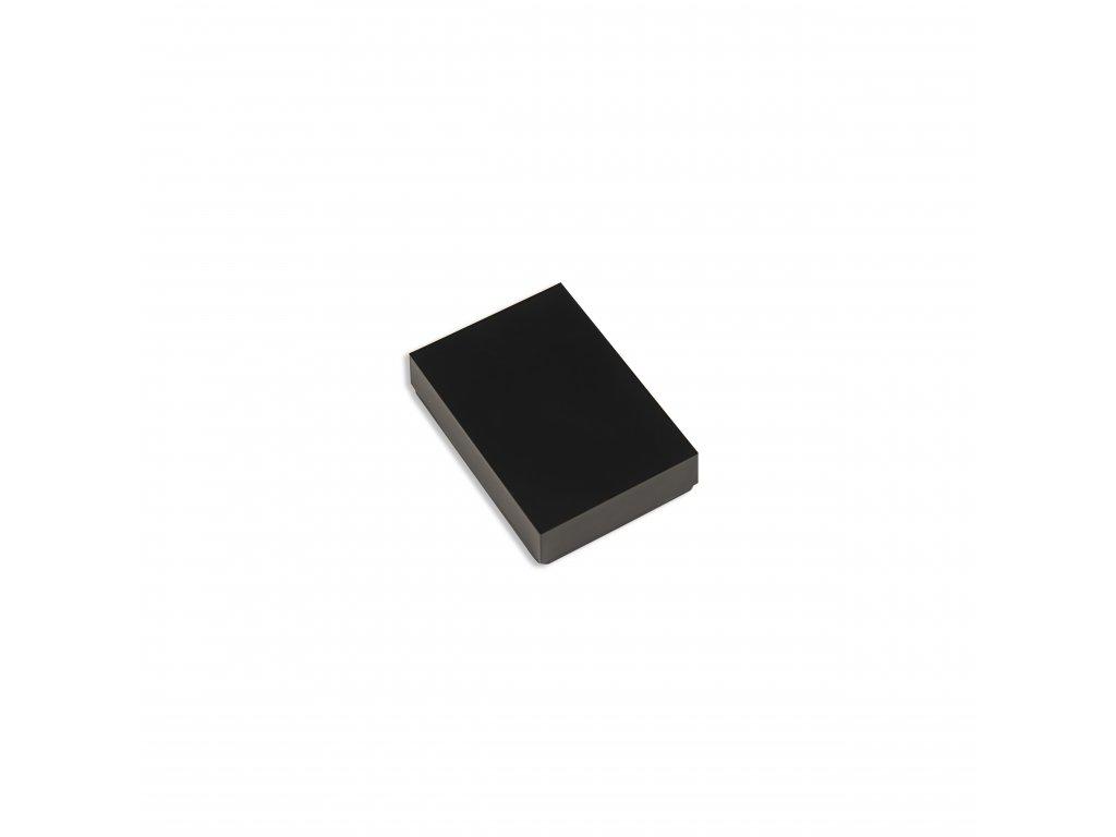 Plastová krabička KM98, černá