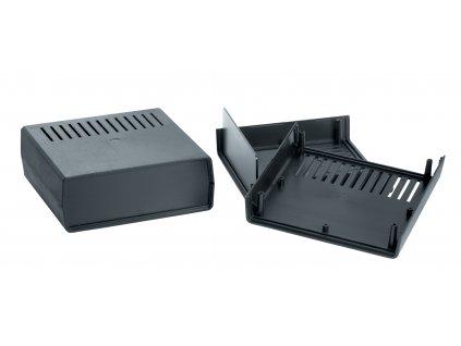 Plastová krabička Z1AW, černá