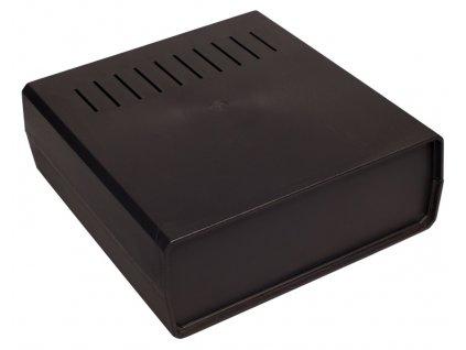 Plastová krabička Z1W, černá
