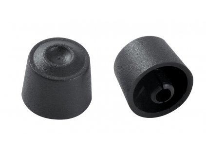 Knoflík 1, černý