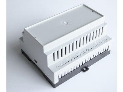 Plastová krabička BKDIN1050 KO/V