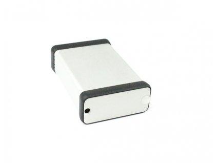Hliníková krabička AL1455, šedá