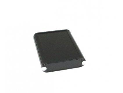 Hliníková krabička AL1456C, černá