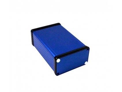 Hliníková krabička AL1457B, modrá