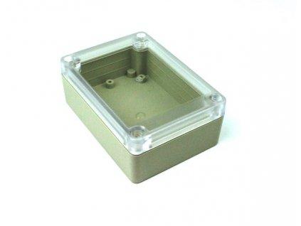 Plastová krabička BK1085, průhledné víko