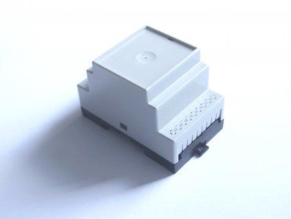 Plastová krabička BKDIN520 KO/P