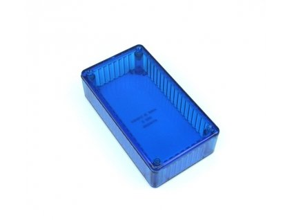 Plastová krabička HM1591B, modrá