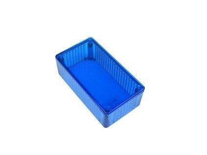 Plastová krabička HM1591CTBU, modrá