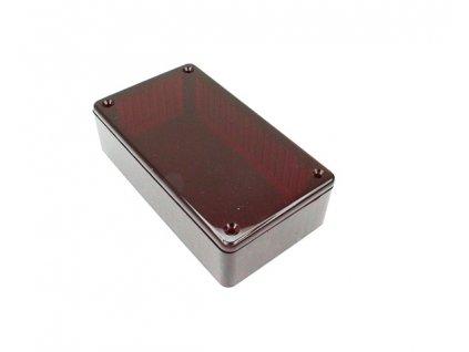 Plastová krabička HM1591BTRD, červená