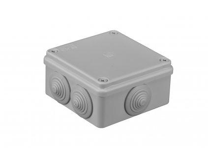 Plastová krabička S-BOX106, šedá