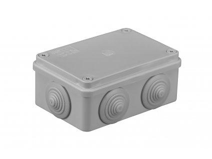 Plastová krabička S-BOX206, šedá