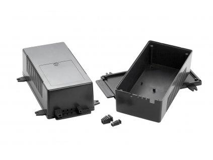 Plastová krabička KM107, černá