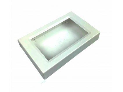 Plastová krabička BK850, bílá