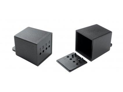 Plastová krabička KM16, černá