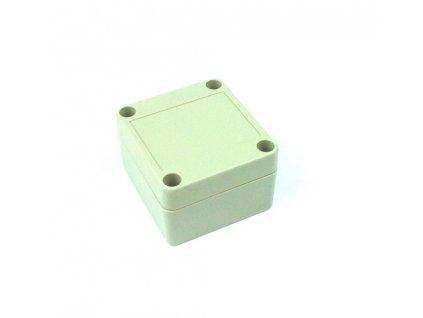 Plastová krabička BK1021, šedá