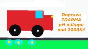 Doprava zdarma od 2000Kč