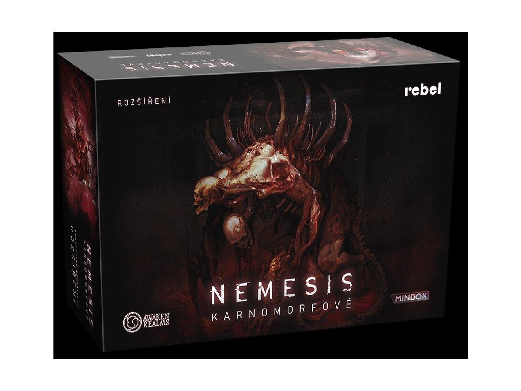 Nemesis Karnomorfove krabice 3D
