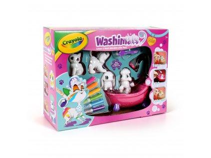 ALBI Crayola Washimals box