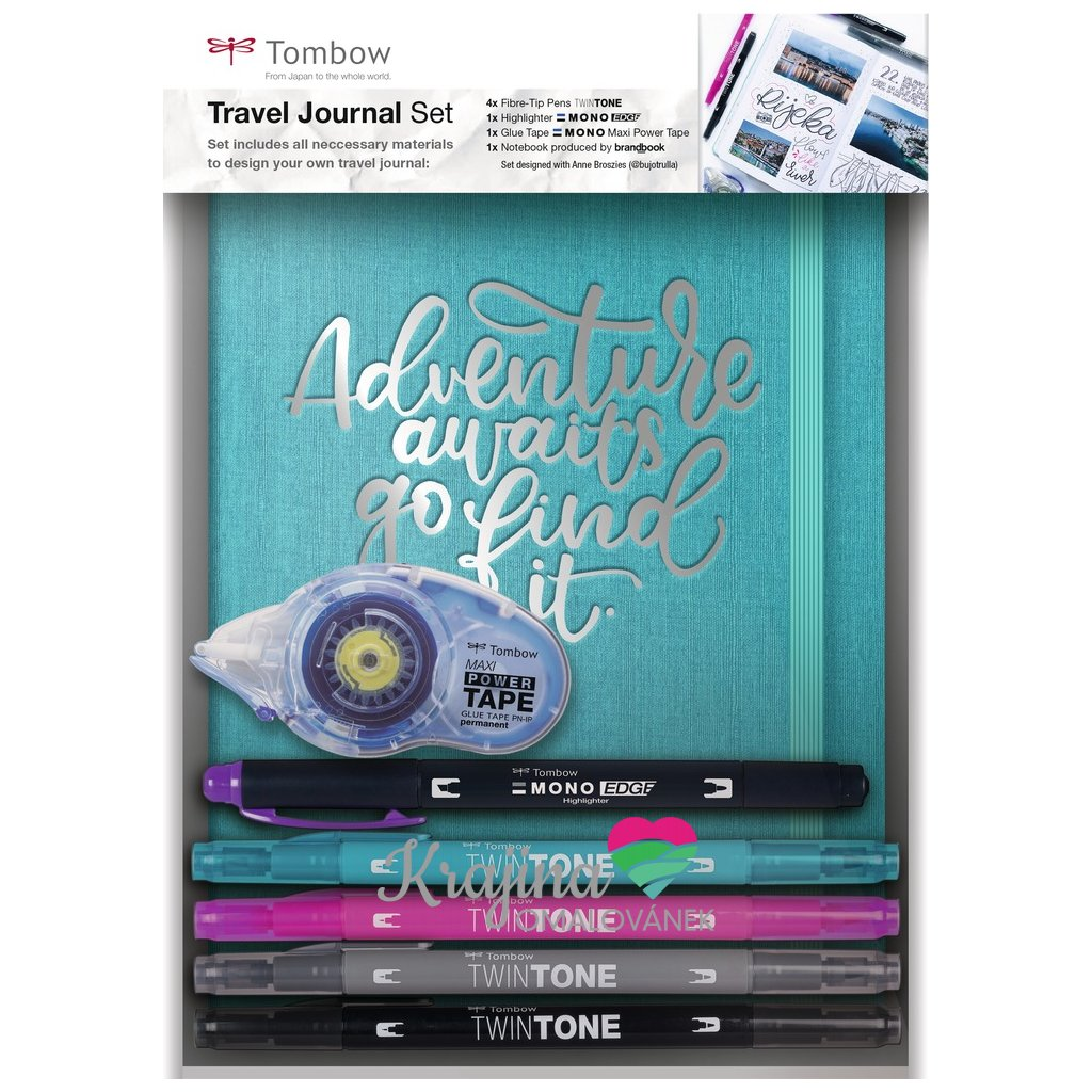 Travel journal set