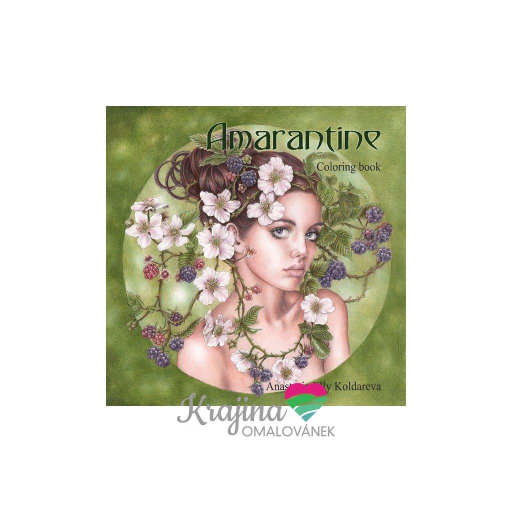 Amarantine, antistresové omalovánky, Anastasia Elly Koldareva