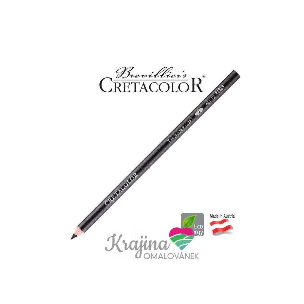 Cretacolor, 461 12, Thunder soft, tužka na stínování