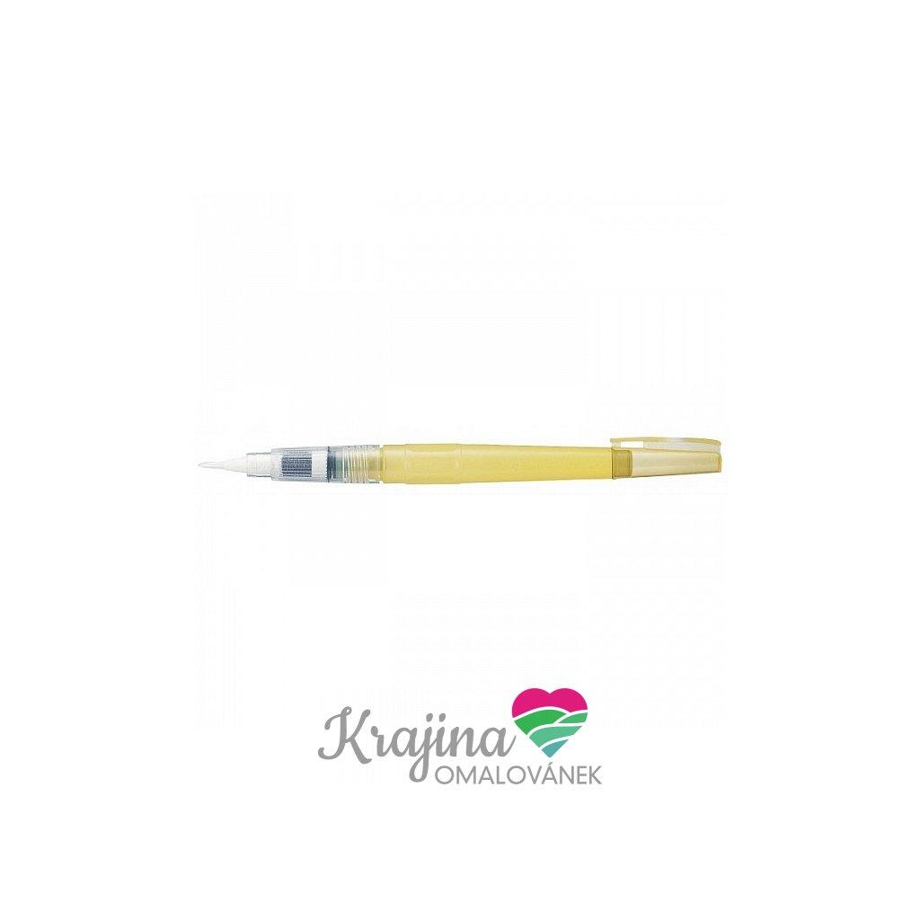 Kuretake, WSBR01, waterbrush, vodou plnitelný štětec, detailer