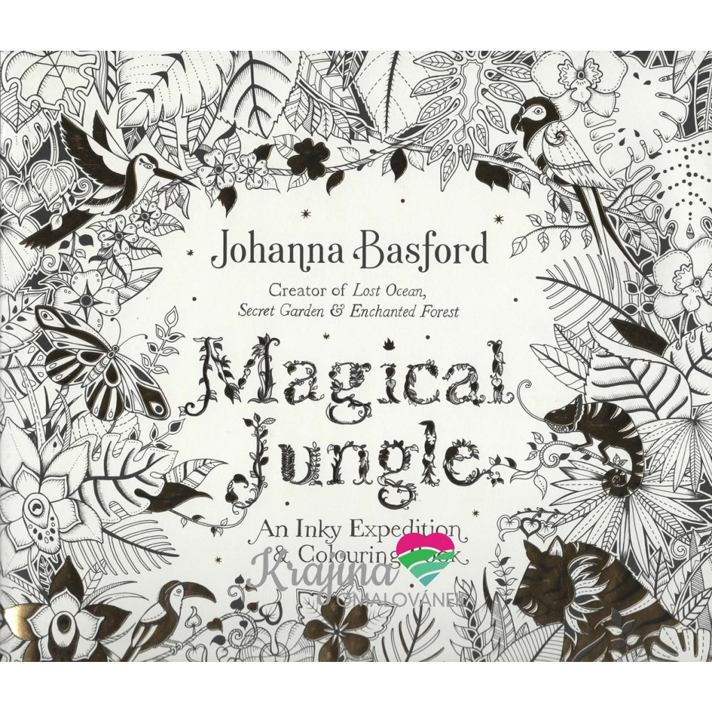 Magical Jungle, Johanna Basford