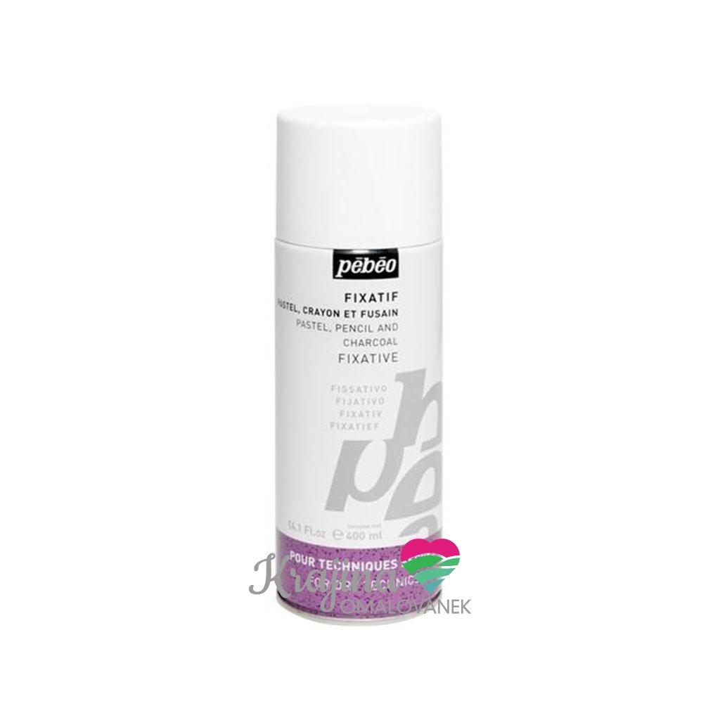 Pebeo, 571140,  fixativ na suchý pastel a uhly, 200 ml