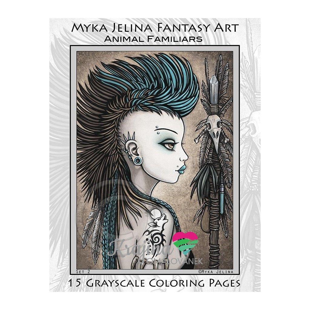 Myka Jelina, Animal Familiars Fairy Angels Tribal