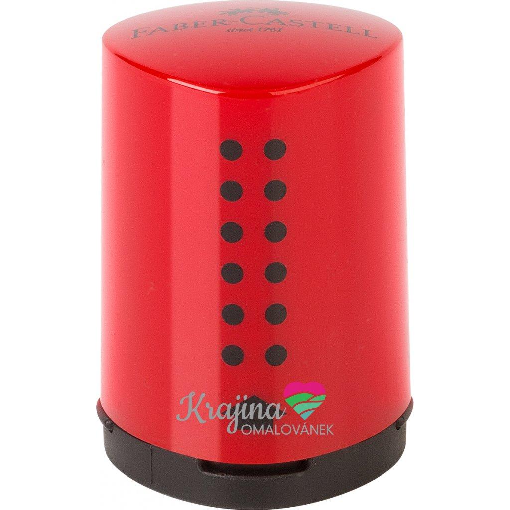 183710 Single sharpening box Grip 2001 Mini blue red Office 37916