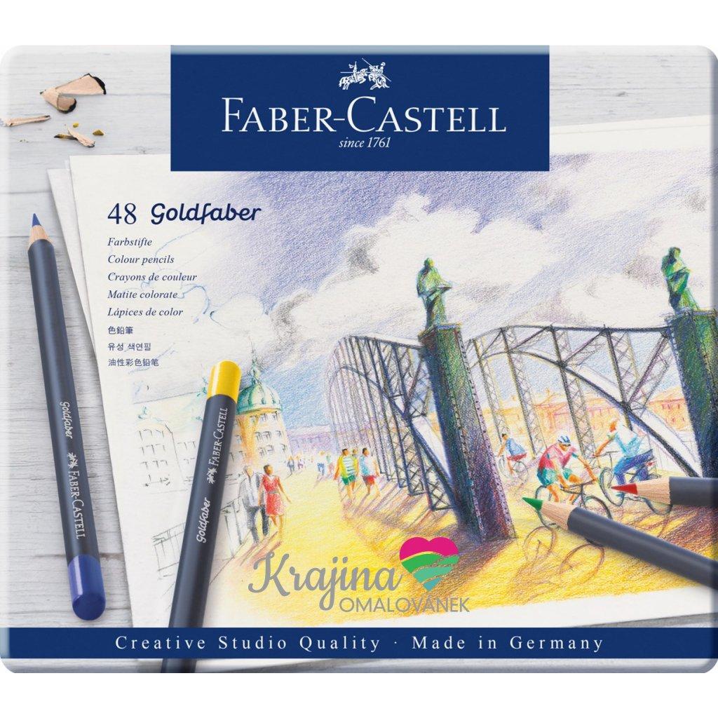 Faber Castell, Goldfaber, 114748,  sada 48 ks