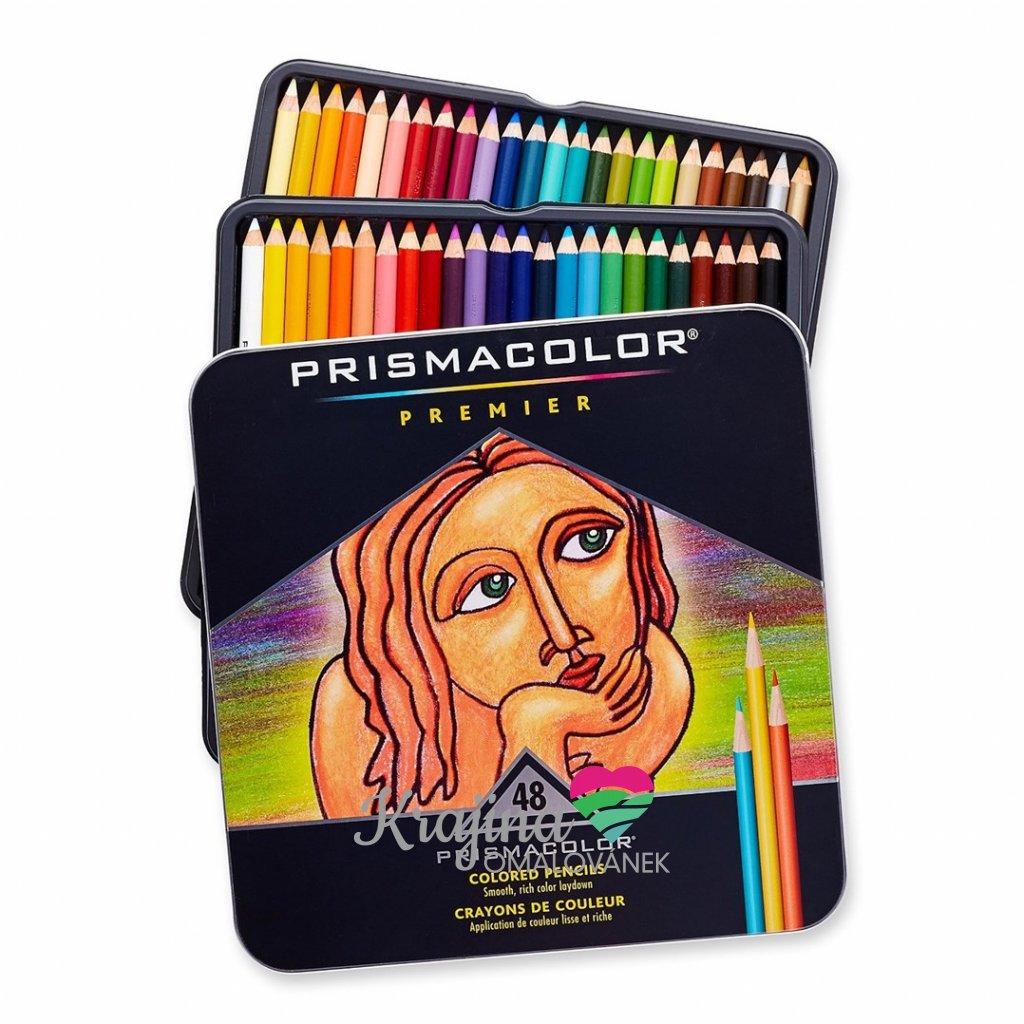 Prismacolor, SAN3598T, Prismacolor Premier, umělecké pastelky nejvyšší kvality, 48 ks