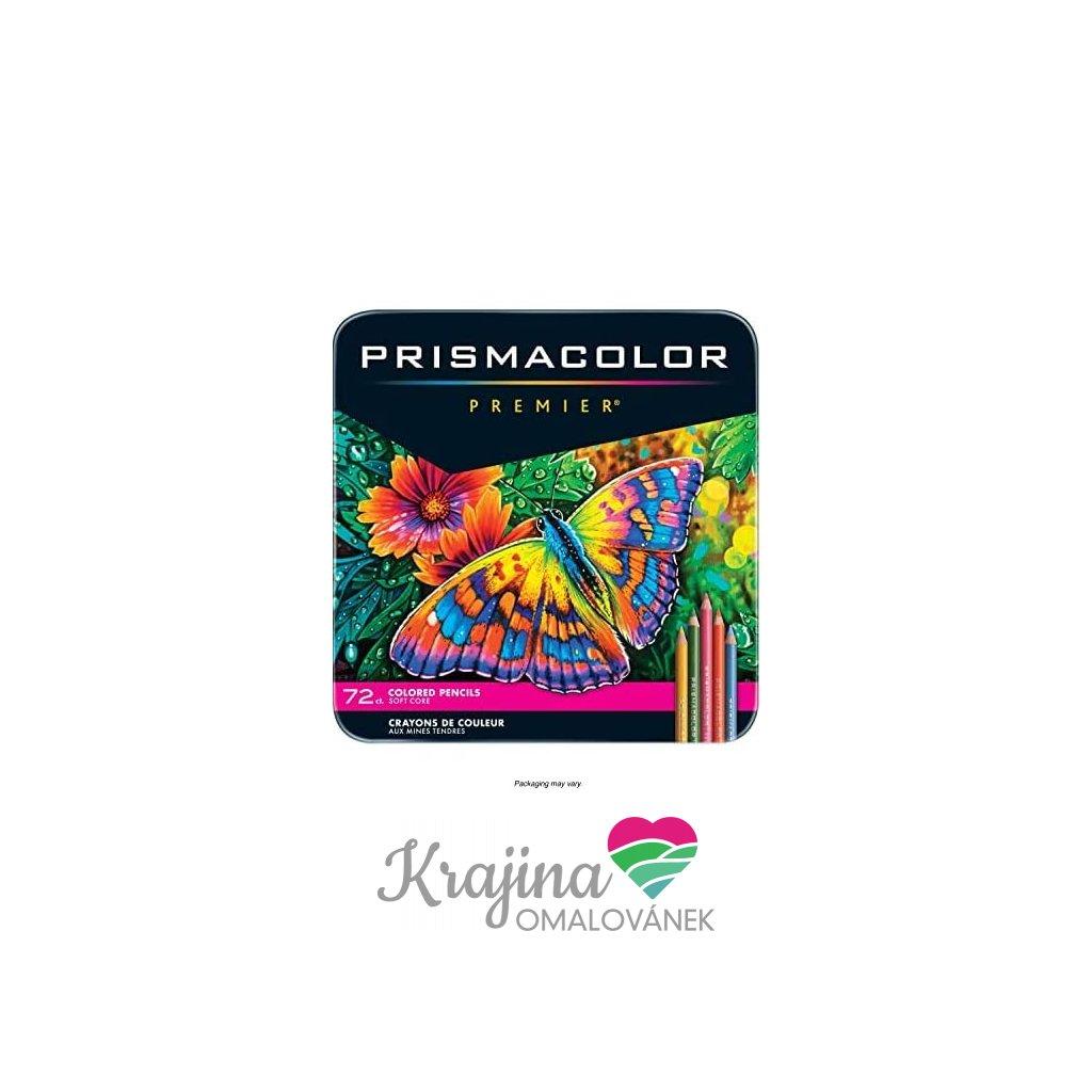 prismacolor 72 ksnová