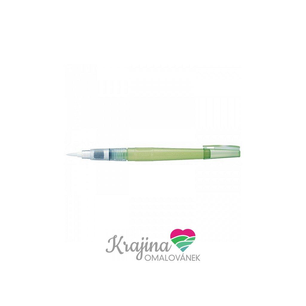 Kuretake, WSBR02, waterbrush, vodou plnitelný štětec, medium