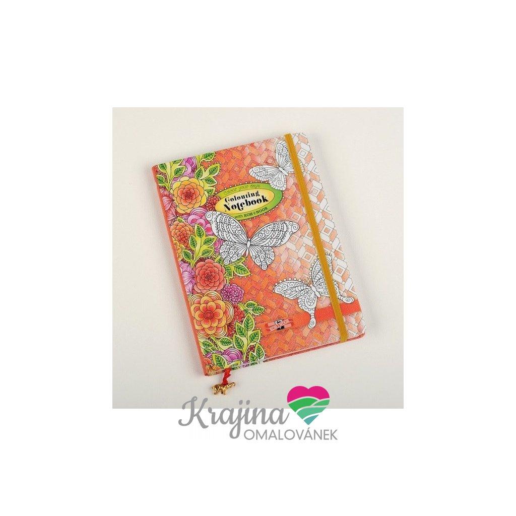 Koh-i-noor, 9870003004SF, omalovánkový zápisník pro dospělé