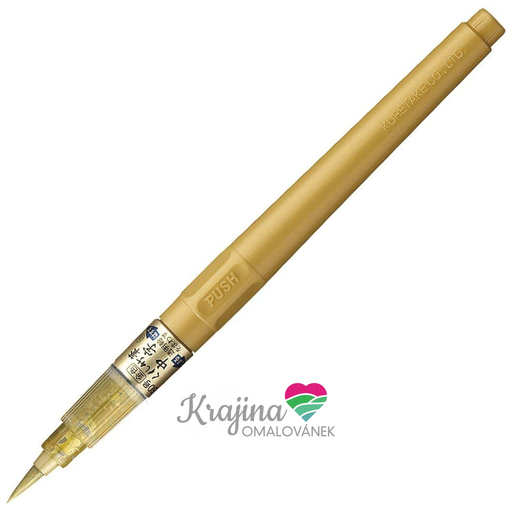fude pen zlatá