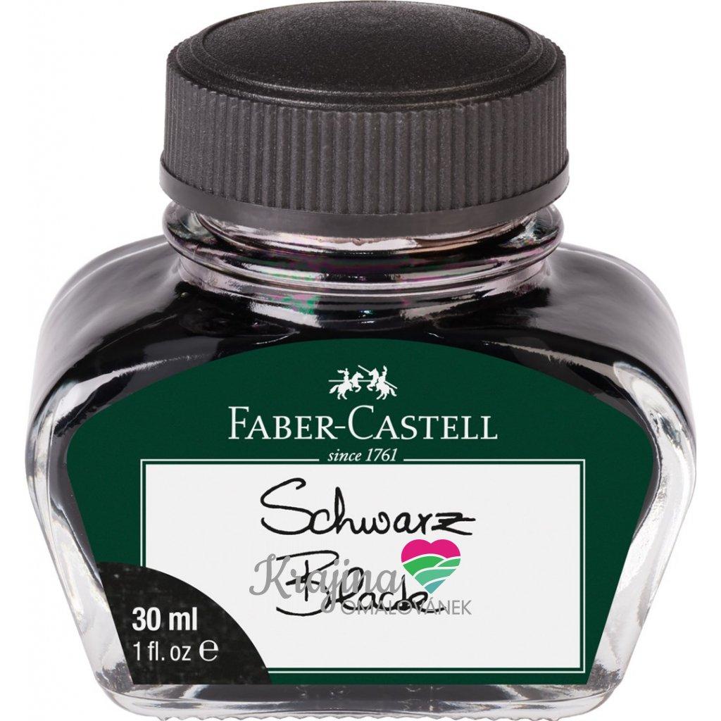 Faber-Castell, 149854, inkoust, černá, 30 ml