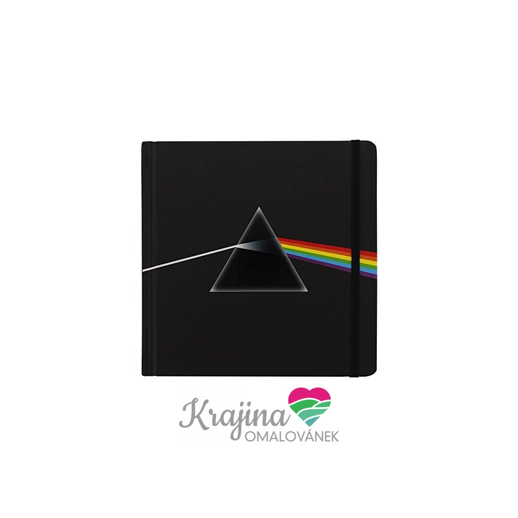 Zápisník, PFNB03, Pink Floyd/Dark side of the moon, 1 ks