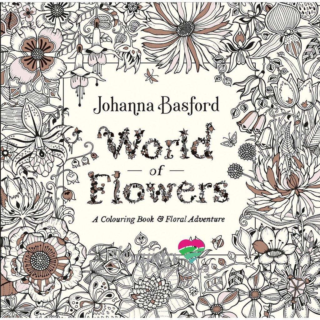 World of Flowers, Johanna Basford