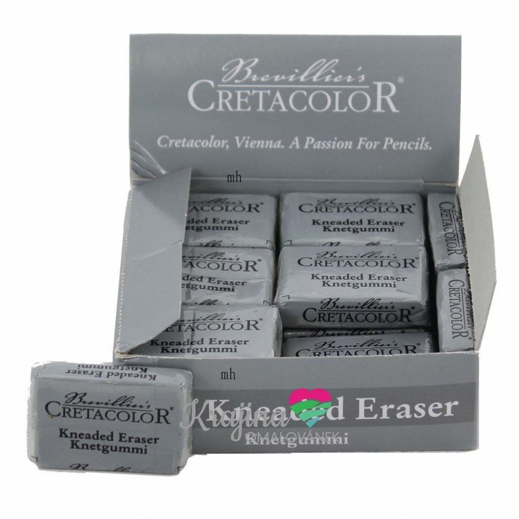 Cretacolor, 432 20, Kneaded eraser, měkká, tvarovatelná pryž na uhly, pastely, 1 ks