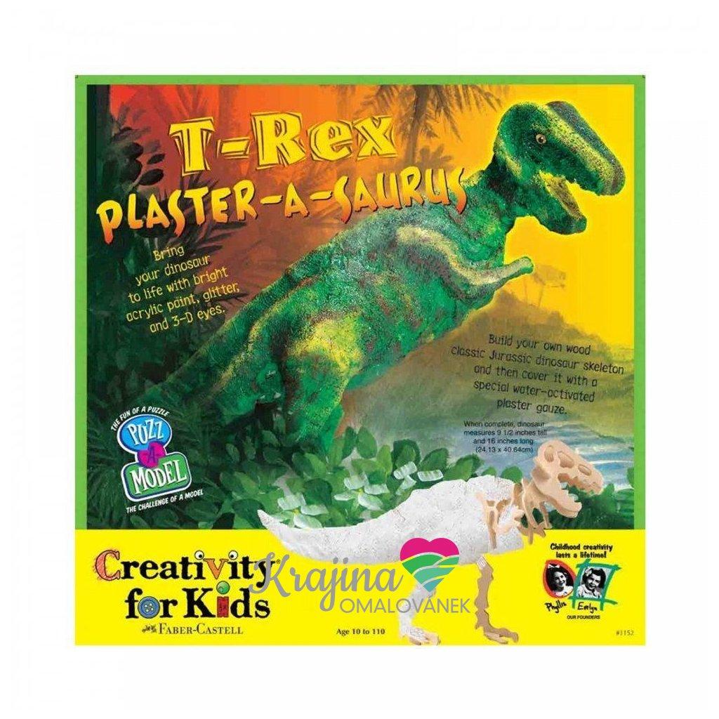 Creativity for kids, CFK1152, kreativní sada, T-rex