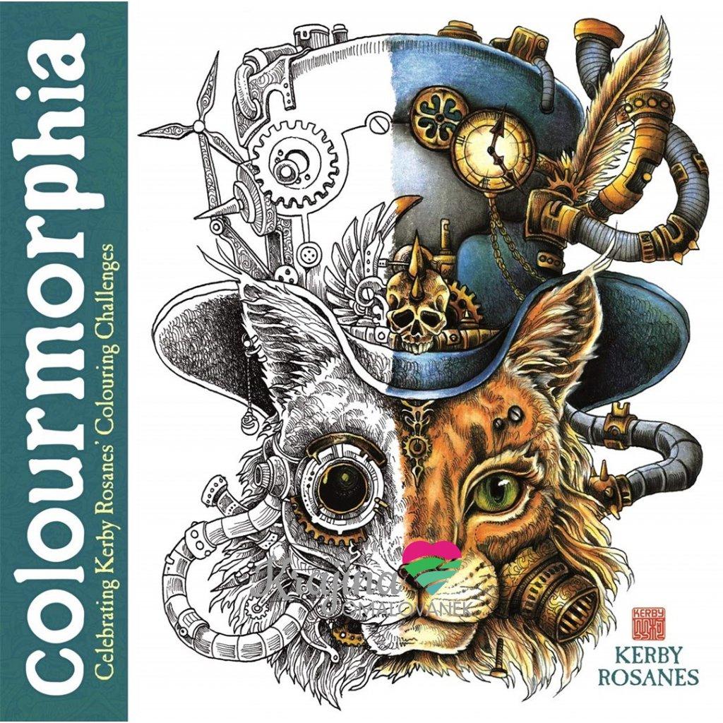 Colourmorphia: Celebrating Kerby Rosanes' Colouring Challenges, Kerby Rosanes