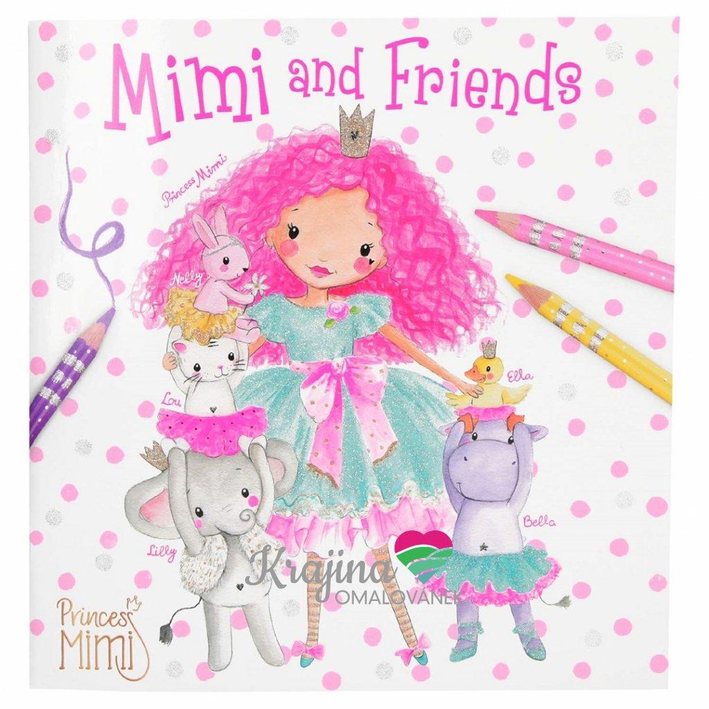 Princess Mimi, 2702806, Mimi a přátelé, omalovánky pro děti
