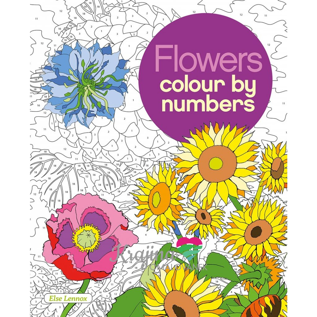 Flowers colour by numbers, kolektiv